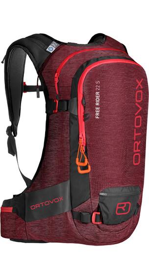 """Ortovox Free Rider 22 S Backpack Dark Blood Blend"""